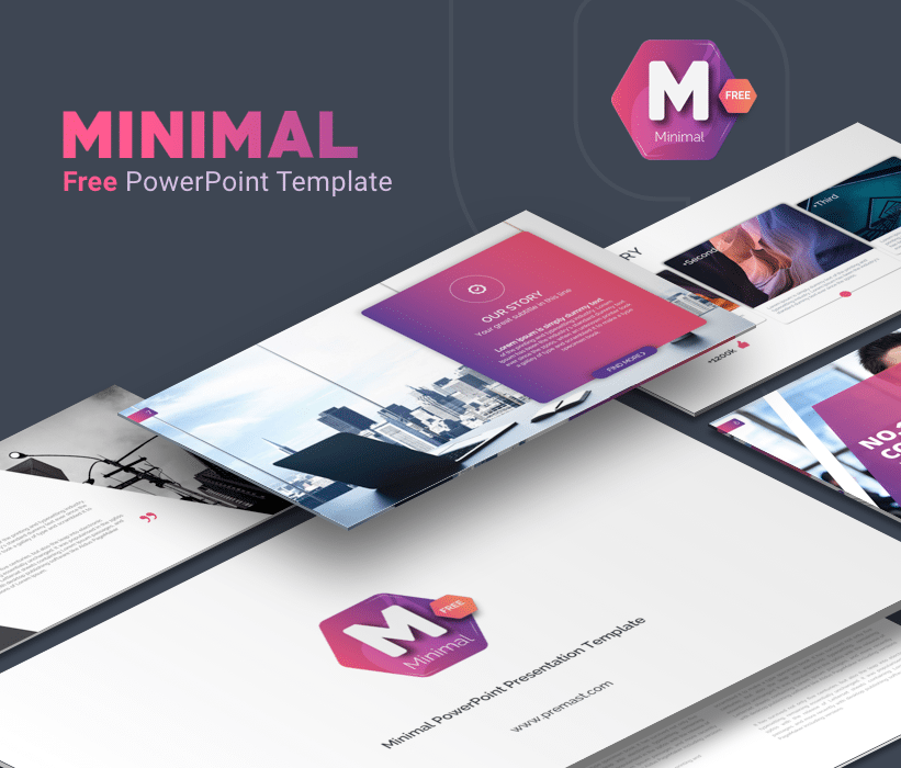 Minimal free powerpoint business Template