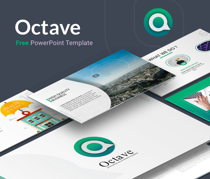 Octave – Free powerPoint Template