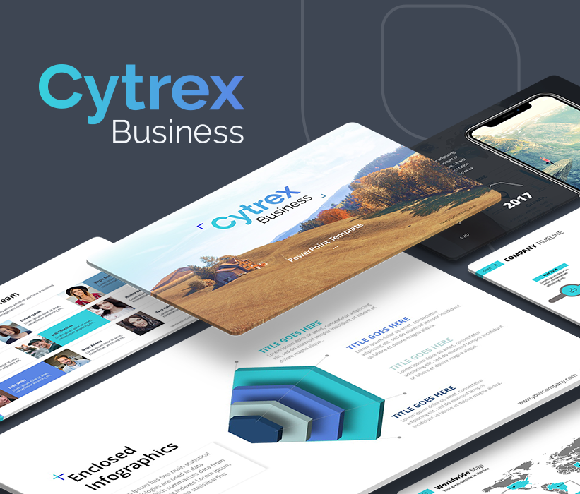 Cytrex – Business Plan PowerPoint Template