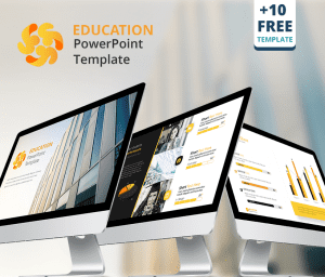 Education presentation free powerpoint template