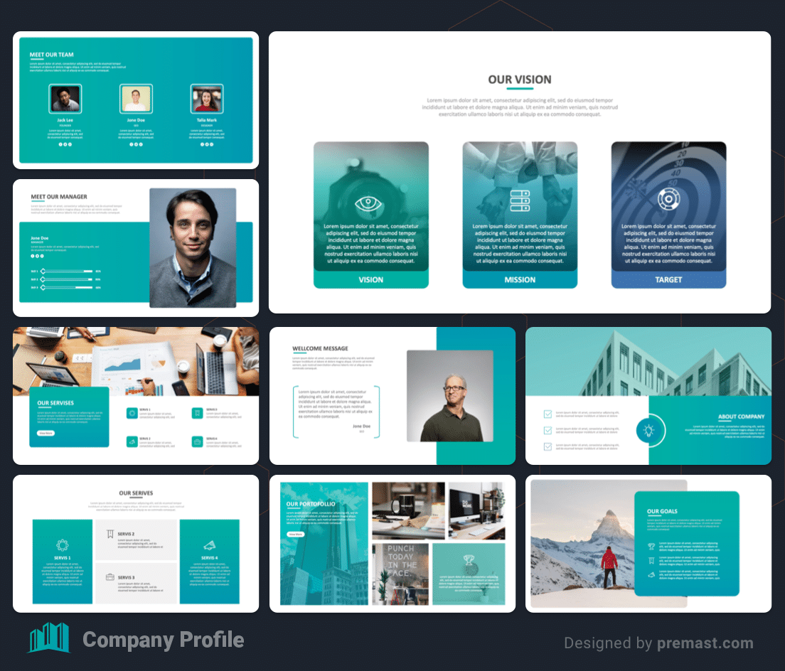 business-company-profile-template-free