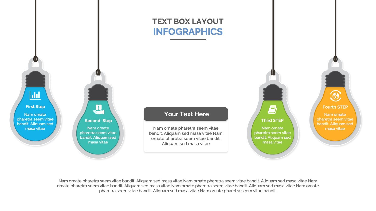 lamp text boxes layout