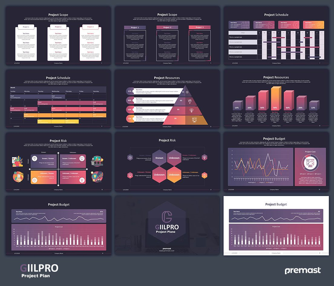Giilpro – Project Plan Template
