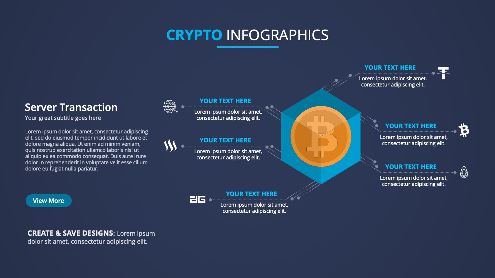 BITCOIN TRANSACTION INFOGRAPHIC