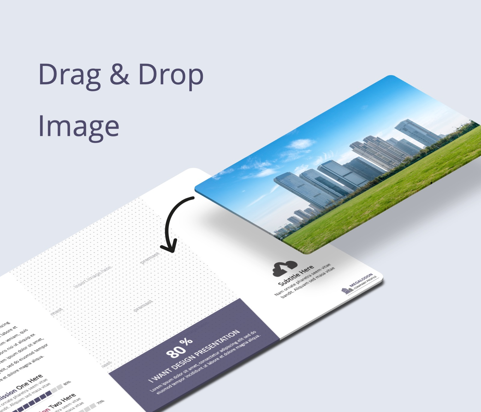 Megalodon Company Profile PowerPoint Presentation Template