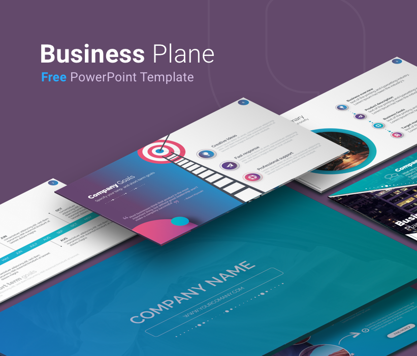 Free PowerPoint Business Plan Template