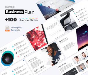 PowerPoint Business Plan Template PPT 📈