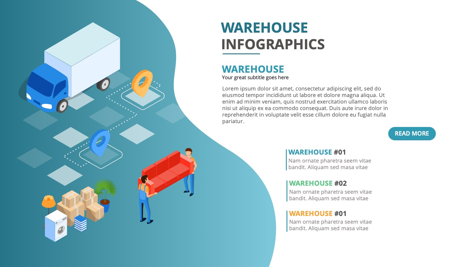 WAREHOUSE INFOGRAPHICS I