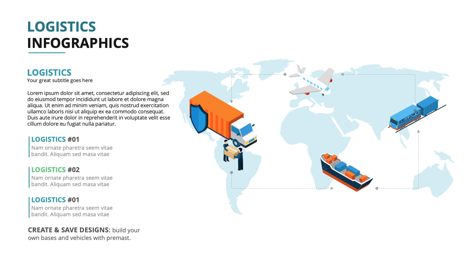 LOGISTIC INFOGRAPHIC II