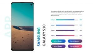 Samsung Galaxy S10 Mock-Up