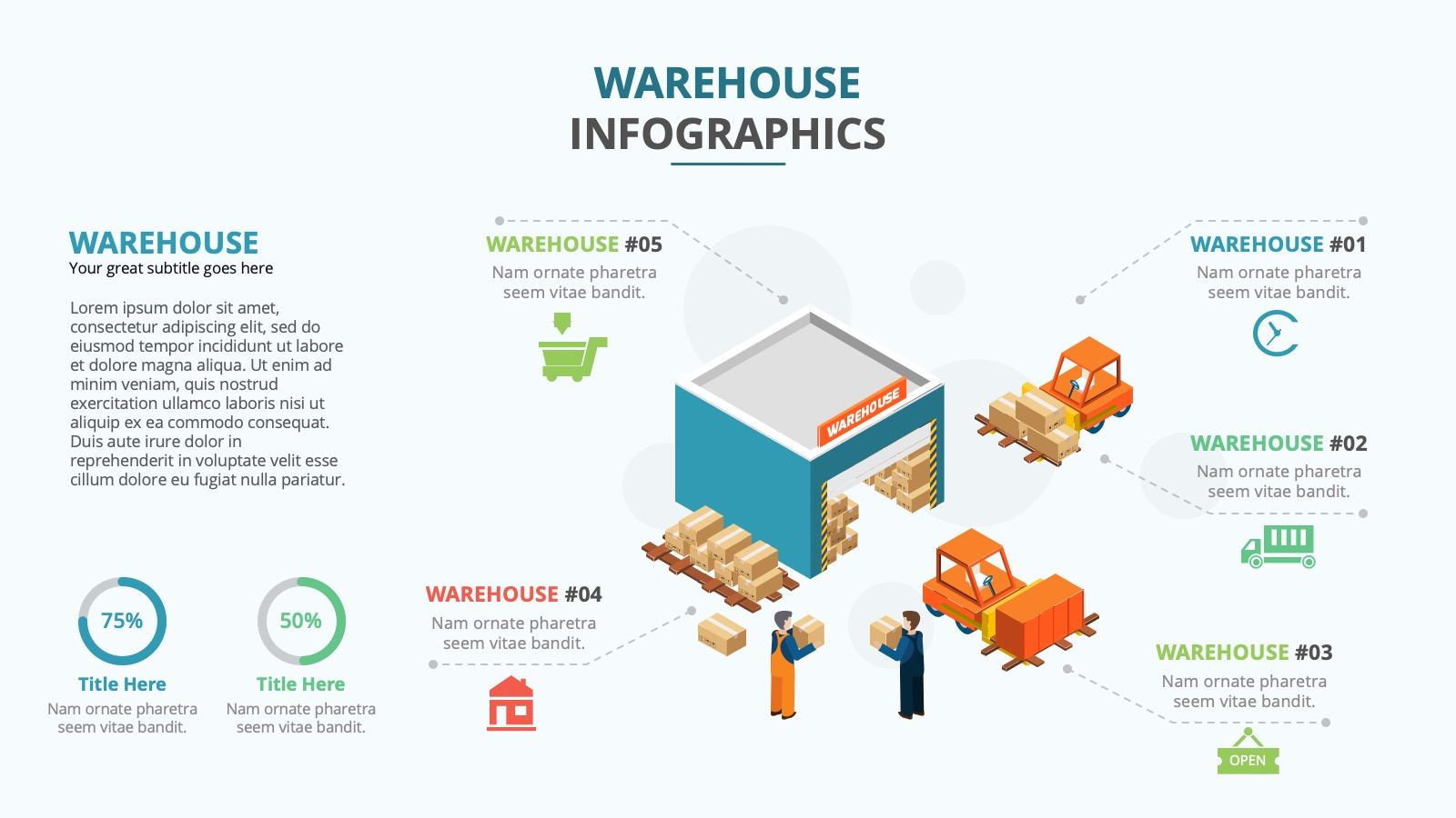 INFOGRAPHICS WAREHOUSE II