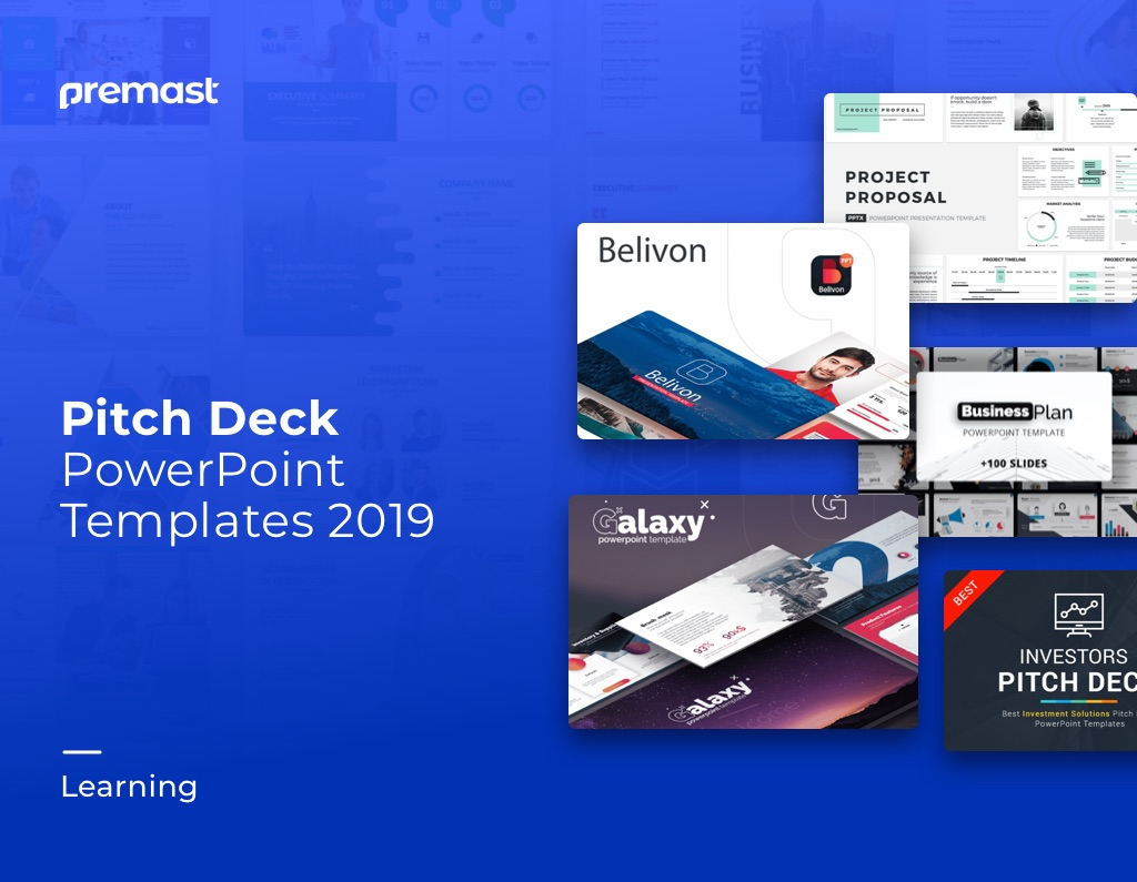 Top Modern Pitch Deck Powerpoint Templates & slides | PPT 2019