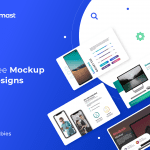 Multiple Free Mockups designs – Editable with unlimited options<