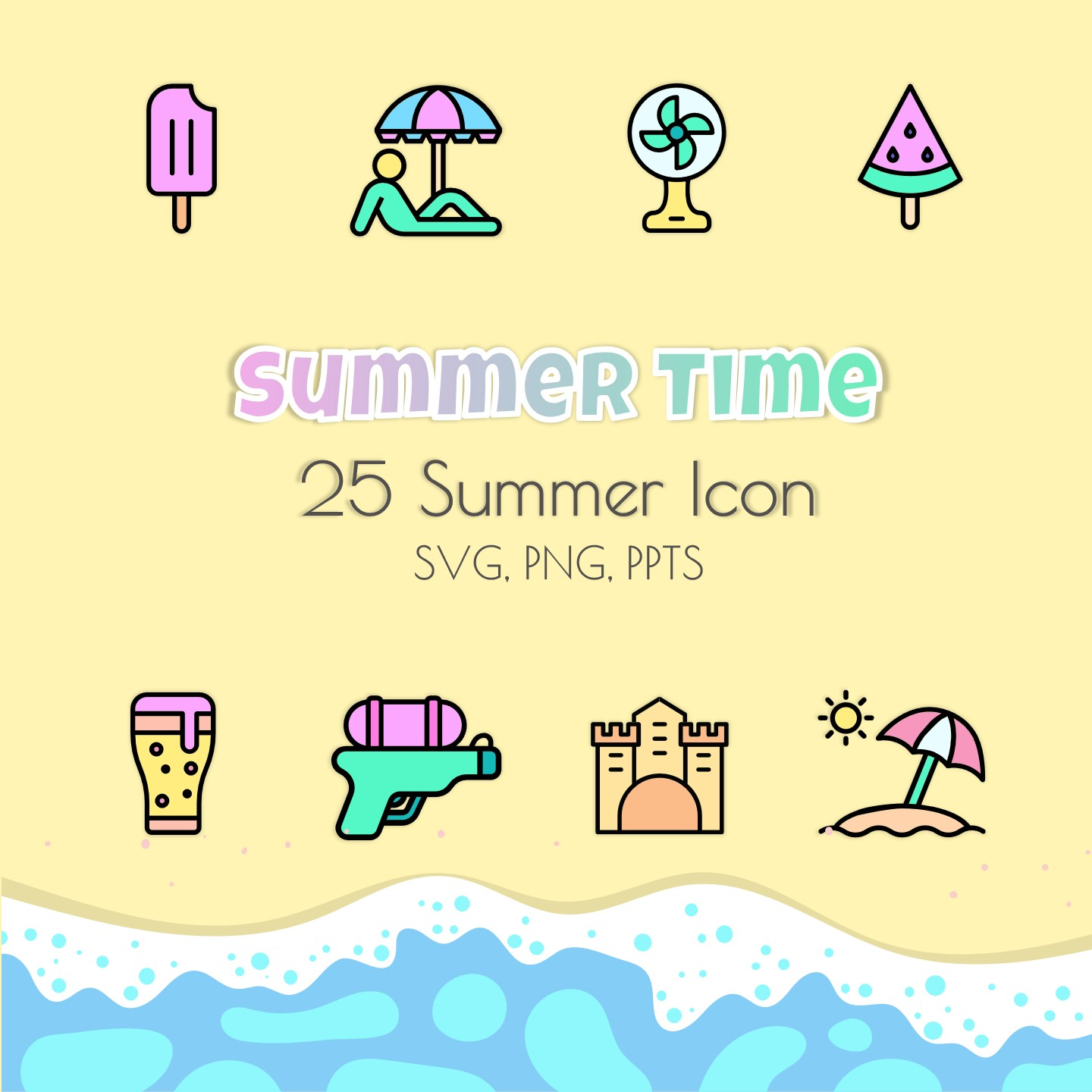 25 Summer Icons