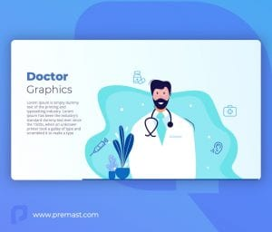 Doctor graphic Template for powerpoint