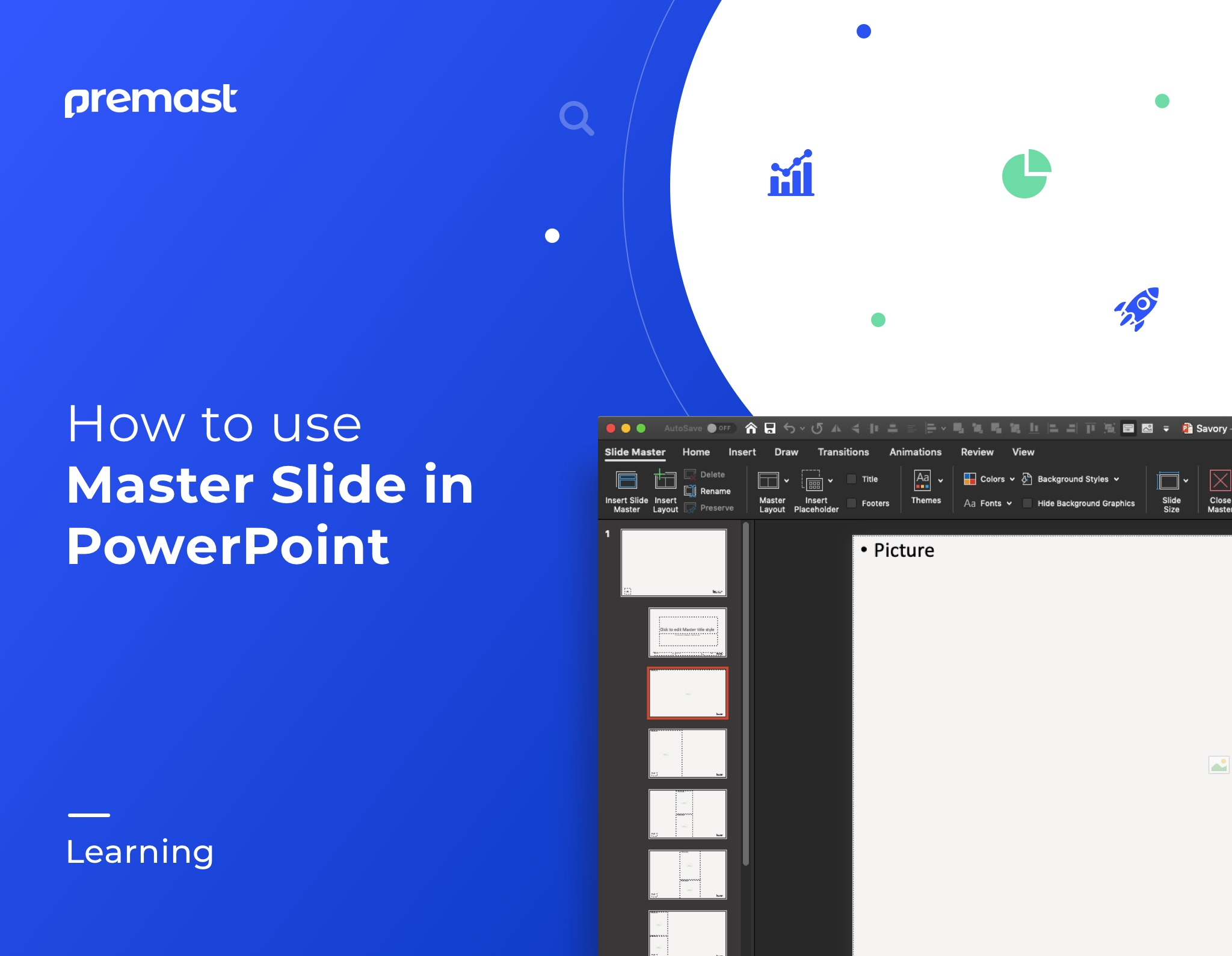 Using Master Slide in PowerPoint – Tutorial 1