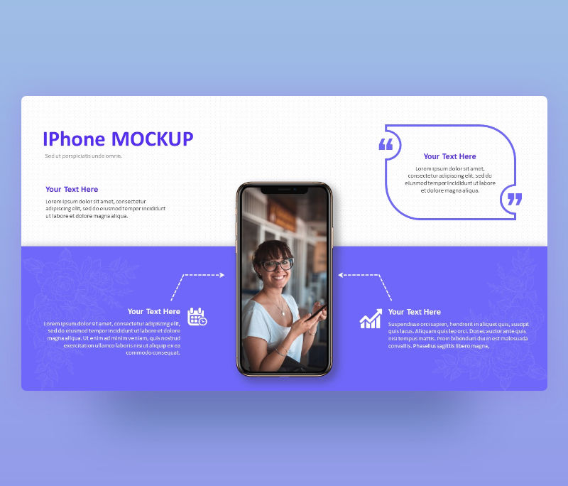 minimal I Phone Mock-up