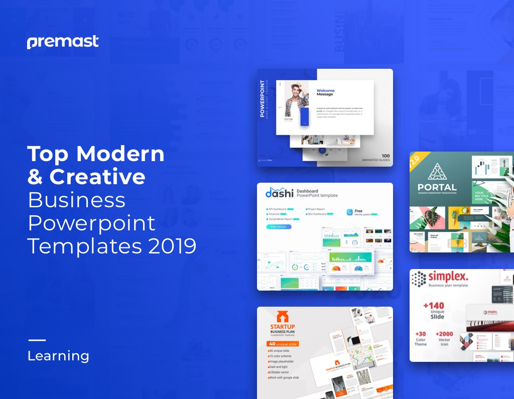 Best Modern Business Powerpoint Templates 👍 (PPT 2019)