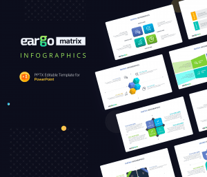 Eargo Matrix Free Infographics PowerPoint Template