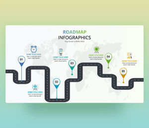 Roadmap Infographic