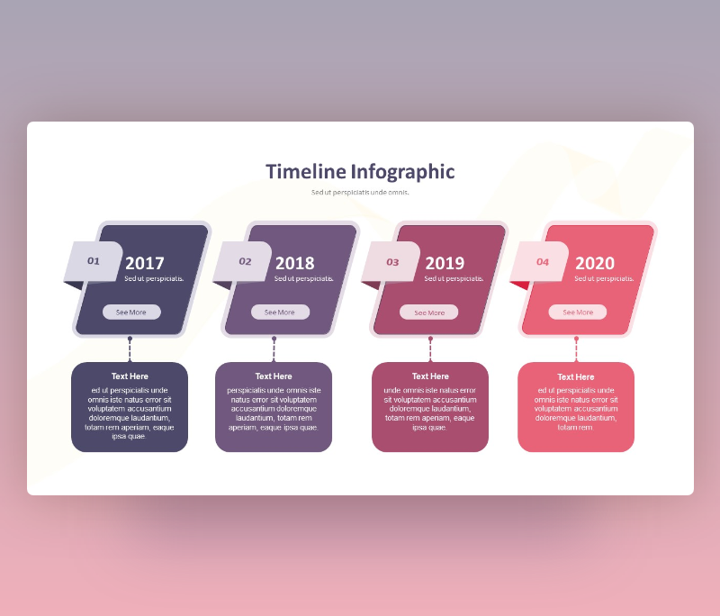 Time Line Infographic
