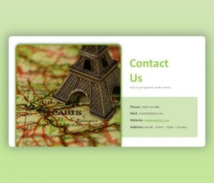 Contact Us PowerPoint Slide Free Template