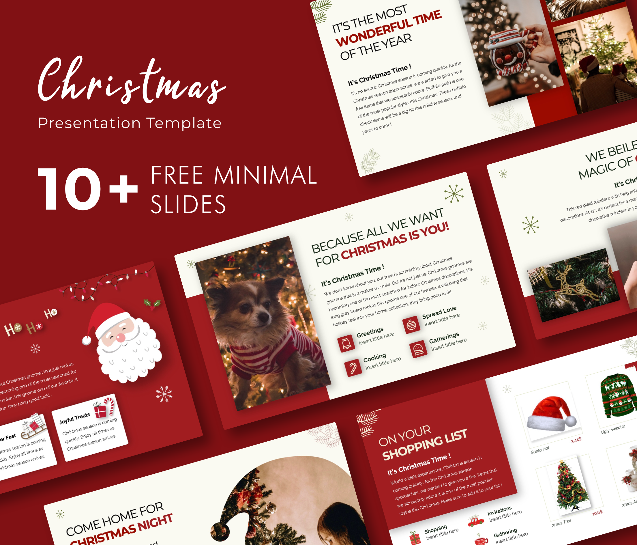 Merry Christmas PowerPoint Presentation Template