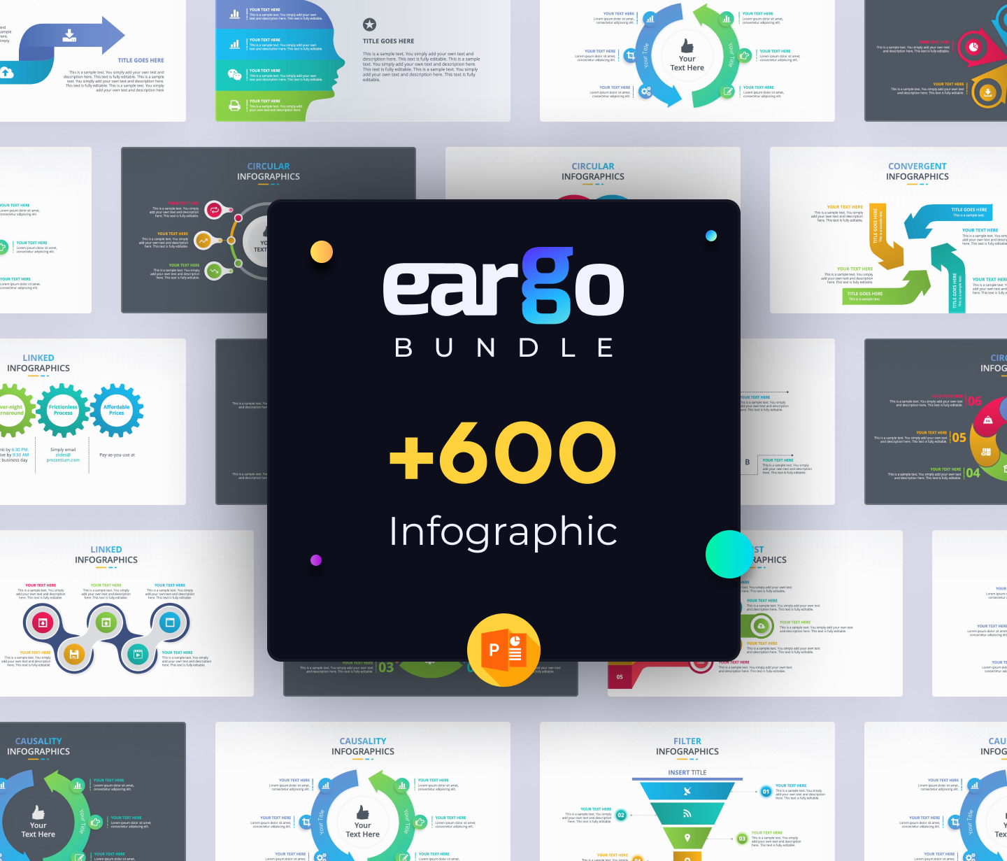 Eargo Bundle Revolutionary Infographic PPT Templates