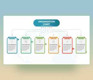 Organizational Chart PowerPoint Slide Template