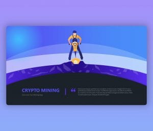 Cryptocurrency PPT Free Download Template