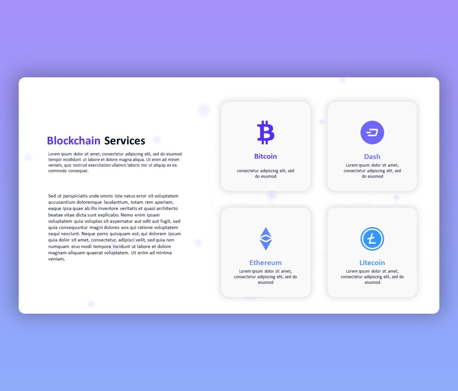 Blockchain and Cryptocurrency PowerPoint Template Free PPT