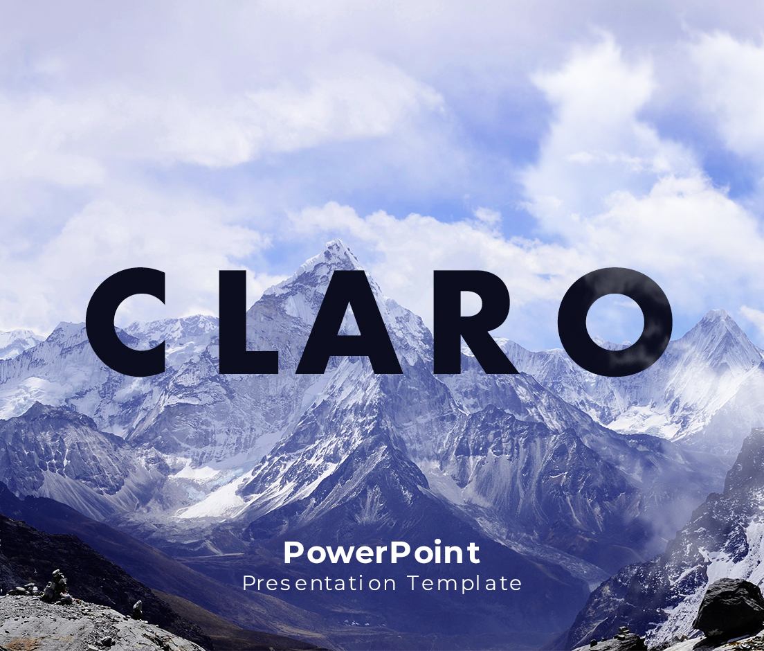 Claro PowerPoint Presentation Template