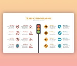 Traffic PowerPoint Template | Free Infographic Slide Theme