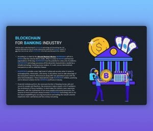 Blockchain for Banking Industry PPT Template