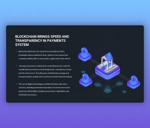 Blockchain Brings Speed and Transparency in Payment Systems PPT