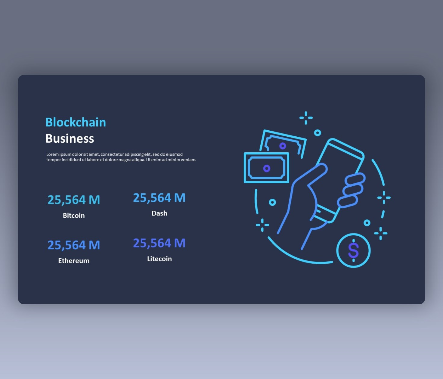 Blockchain Presentation Slide for Business