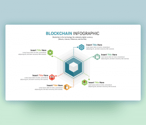Blockchain Technology Infographic PowerPoint Template