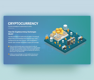 Cryptocurrency Exchange PPT – Free PowerPoint Template