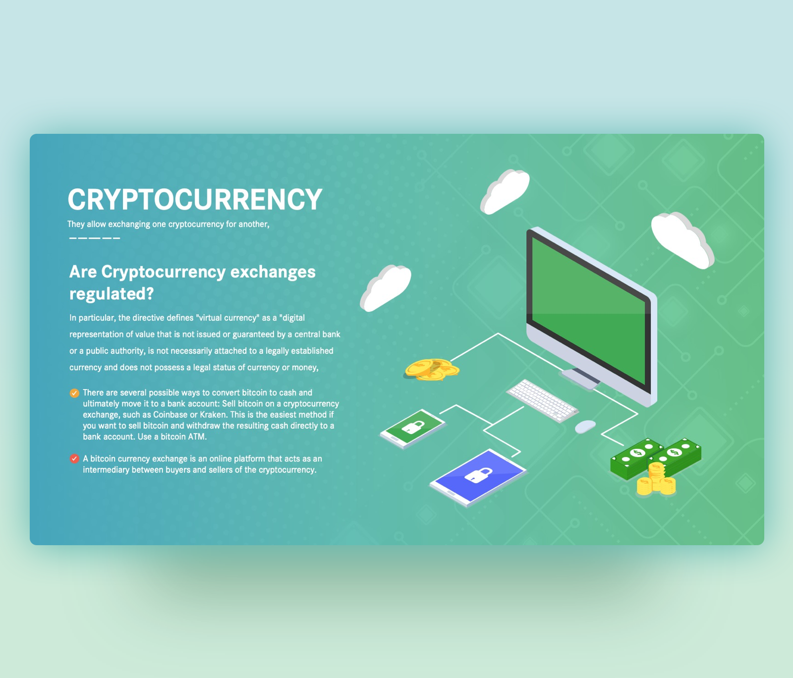 Cryptocurrency Exchange Regulation – PowerPoint Template