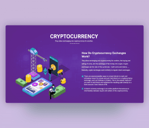 How Do Cryptocurrency Exchanges Work | PPT Tempalte