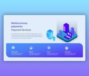 Multi Currency Payments PowerPoint Design
