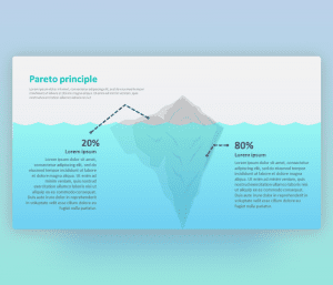 Pareto Principle II – PowerPoint Template