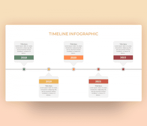 Yearly Timeline PowerPoint Template Free Download
