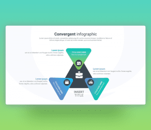 Convergent Infographic PowerPoint Template Free