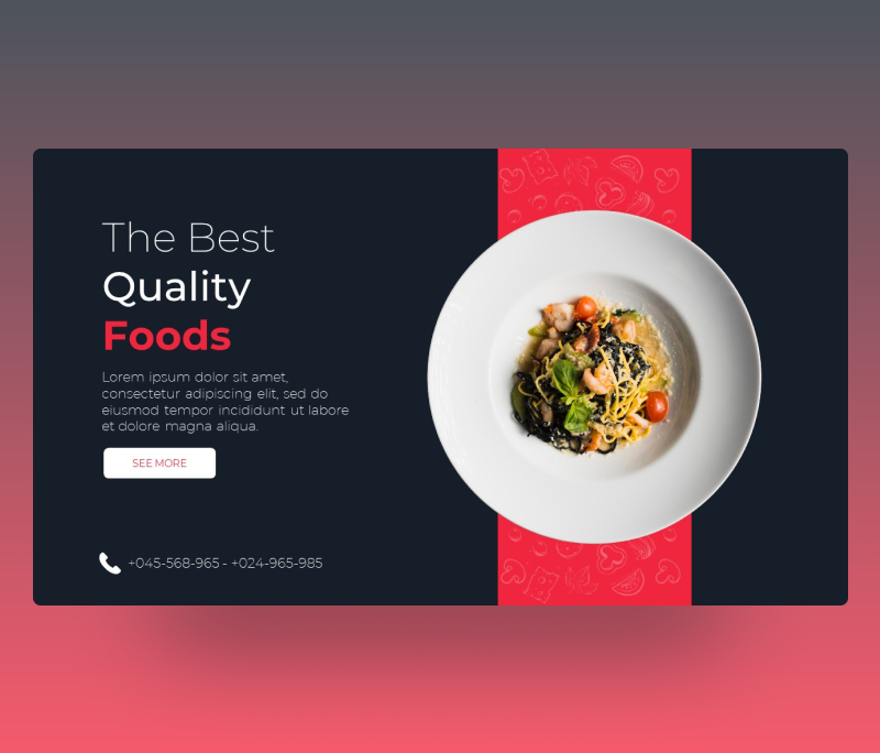 The Best Quality Foods PowerPoint Template