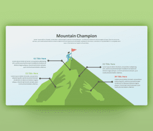 Mountain Champion PowerPoint Template