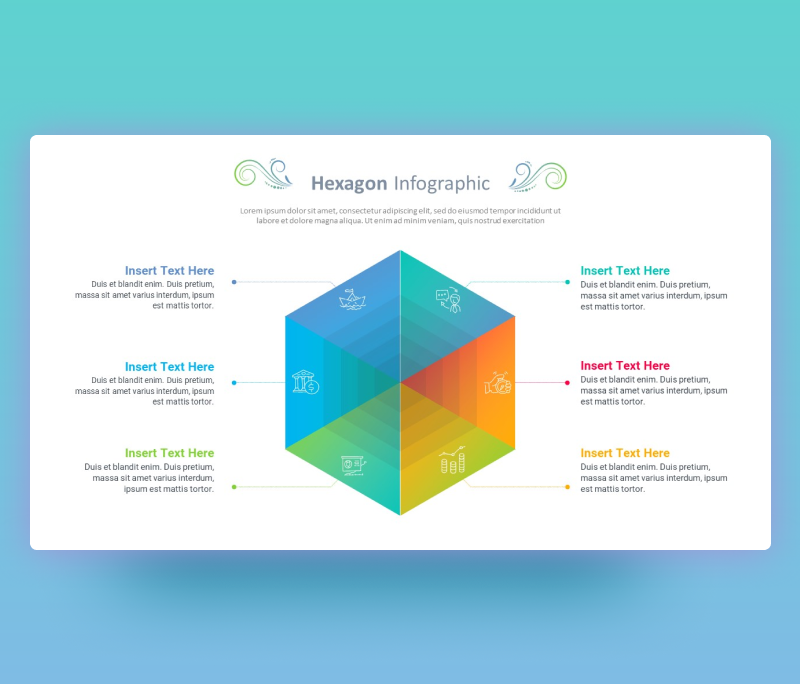 Hexagon PowerPoint Template – Free Smartart PPT