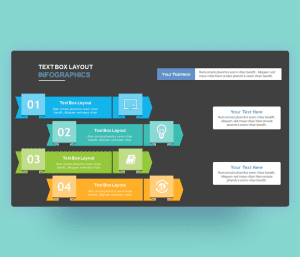 dark textboxes layouts powerpoint ppt