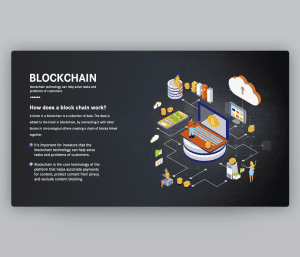 Blockchain PowerPoint Business Template