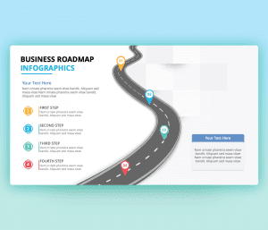 Free Editable Business Roadmap PowerPoint Template